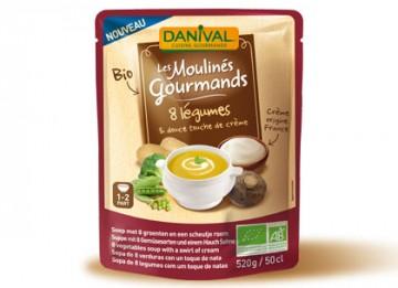 DANIVAL MOULINE GOURMAND 8 LEGUMES 50CL