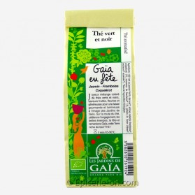 Thé en fête Les Jardins de Gaia