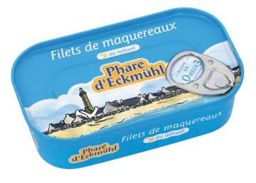PHARE D'ECKMUHL FILETS DE MAQUEREAUX AU