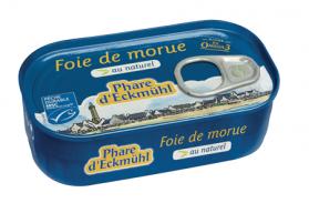 PHARE D'ECKMULH FOIE DE MORUE AU NATUREL