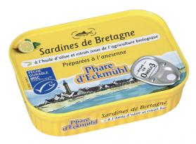 PHARE D'ECKMUHL SARDINES HUILE D'OLIVE E