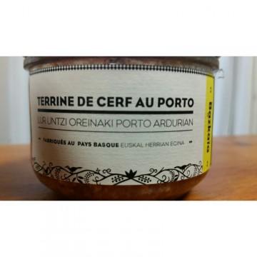 HOBERENA TERRINE DE CERF AU PORTO 180G
