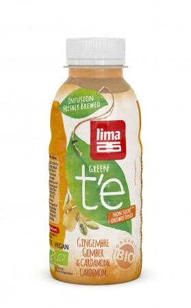 LIMA GREEN T'E GINGEMBRE CARDAMOME 330ML