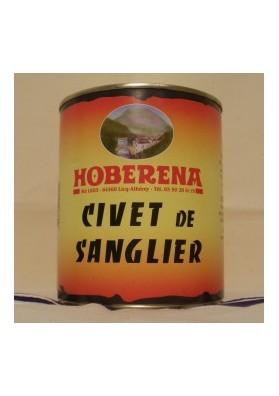 HOBERENA CIVET DE SANGLIER 400G