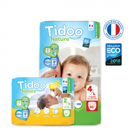 JUMBO PACK TIDOO COUCHES T5/XL 12-25KG