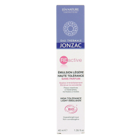 JONZAC EMULSION LEGERE HTE TOLERANCE SS PARFUM 40ML
