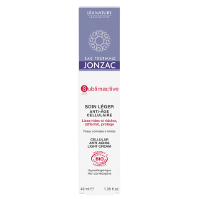 JONZAC SOIN LEGER ANTI AGE CELLULAIRE 40ML