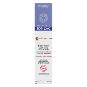 JONZAC SOIN NUIT ANTI AGE CELLULAIRE 40ML