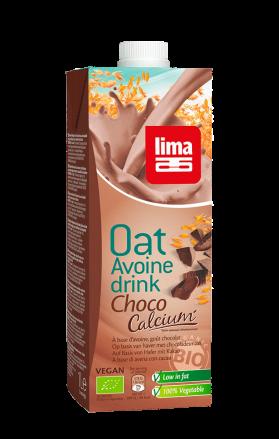 LIMA OAT DRINK CHOCO CALCIUM 1L