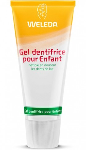 WELEDA GEL DENTIFRICE ENFANT DUO