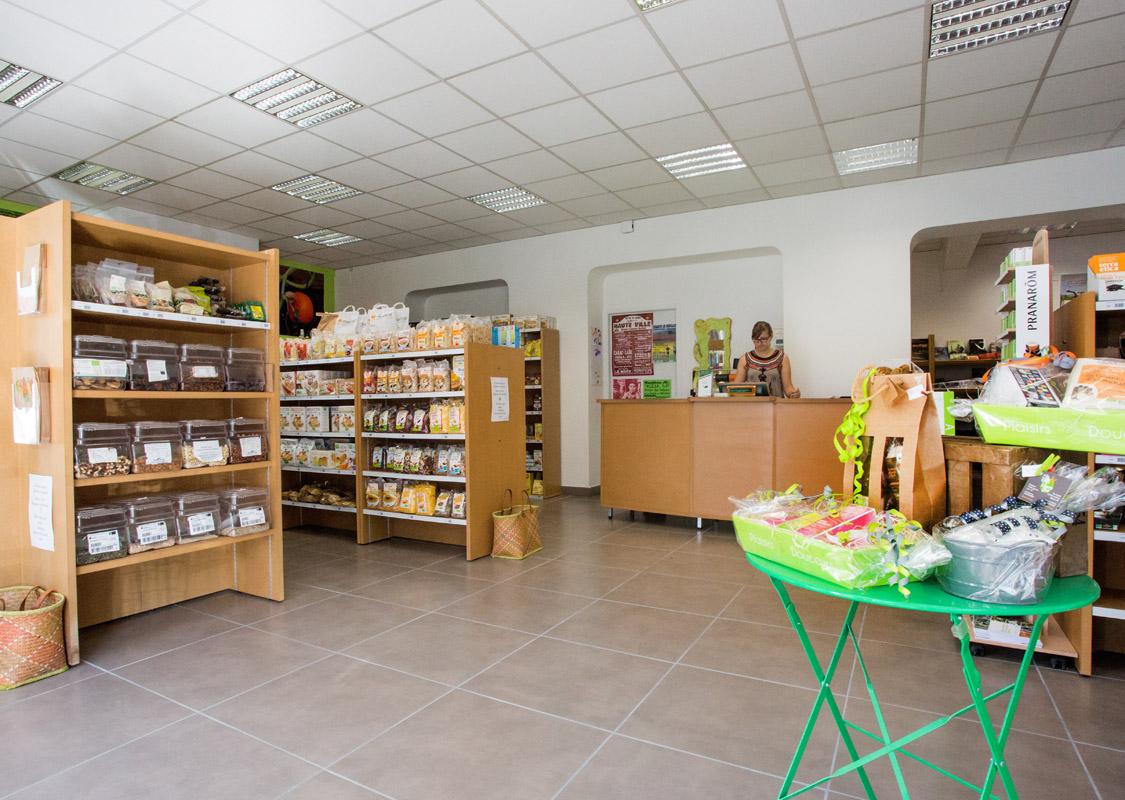 Xiberobio Mauleon vue d'ensemble épicerie bio